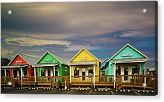Shops Of Ocean Shores Acrylic Print