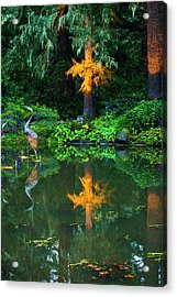 Acrylic Print featuring the photograph Shore Acres Beauty by Dale Stillman