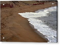 Shore Art - Plum Island Acrylic Print by AnnaJanessa PhotoArt