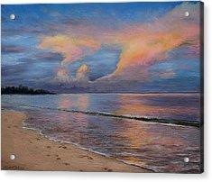Shore Of Solitude Acrylic Print by Susan Jenkins