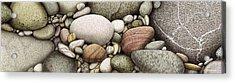 Shore Stones Acrylic Print