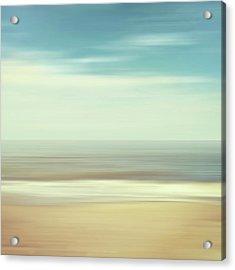 Shore Acrylic Print by Wim Lanclus