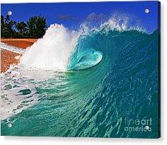 Shorebreaker Acrylic Print