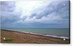 Acrylic Print featuring the photograph Shoreham Shoreline by Anne Kotan