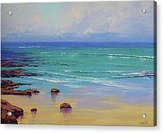 Shoreline Colors Acrylic Print