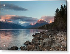 Acrylic Print featuring the photograph Shoreline by Fran Riley