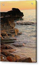 Shoreline In Bimini Acrylic Print