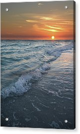 Shoreline Sunset Acrylic Print