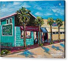 Shorelines Acrylic Print