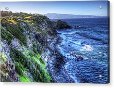 Acrylic Print featuring the photograph Shores Of Maui by Shawn Everhart