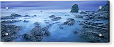 Shores Of Neptune - Craigbill.com - Open Edition Acrylic Print by Craig Bill