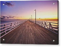 Shorncliffe Pier At First Light  Acrylic Print
