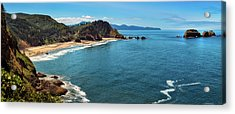 Short Beach, Oregon Acrylic Print