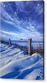 Short Piece Of Time Acrylic Print by Phil Koch