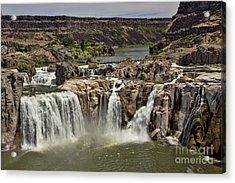 Shoshone Falls Acrylic Print