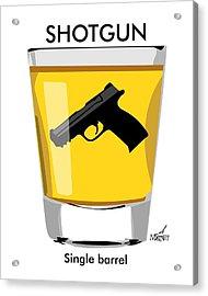 Shotgun Acrylic Print