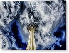 Acrylic Print featuring the photograph Shout by Michael Rogers