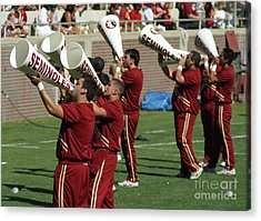Shout Out Acrylic Print by Allen Simmons