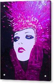 Show Girl Dorothy Acrylic Print