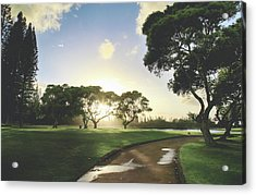 Acrylic Print featuring the photograph Show Me The Way by Laurie Search