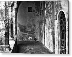 Showing It's Age In Sorrento Acrylic Print
