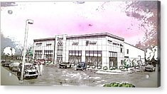 Showroom Rendering Acrylic Print