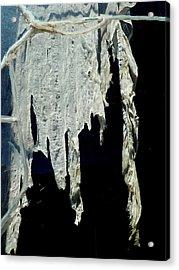 Shredded Curtains Acrylic Print