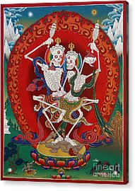 Shri Chittipati - Chokling Tersar Acrylic Print by Sergey Noskov