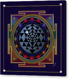 Shri Yantra Acrylic Print