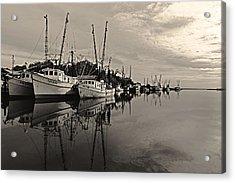 Shrimp Boats On The Altamaha Acrylic Print