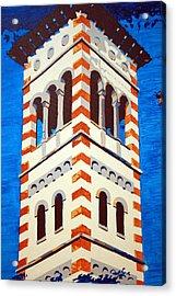 Shrine Bell Tower Detail Acrylic Print