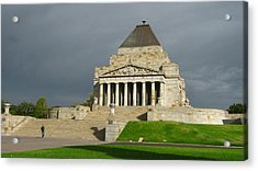 Shrine Of Remembrance Acrylic Print