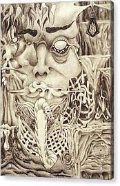 Shudders Acrylic Print by Sean Imler