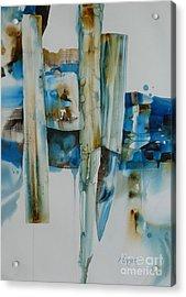Shuffling Memories Acrylic Print