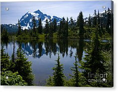 Shuksan In Spring Acrylic Print by Idaho Scenic Images Linda Lantzy