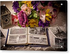Shur Shot From The Past In Color Acrylic Print