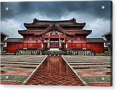 Shuri Castle Acrylic Print