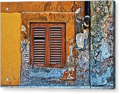 Acrylic Print featuring the photograph Shuttered by Harry Spitz