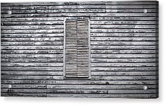 Shuttered Acrylic Print