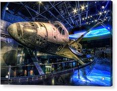 Shuttle Atlantis Acrylic Print