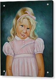 Shy Acrylic Print by Joni McPherson