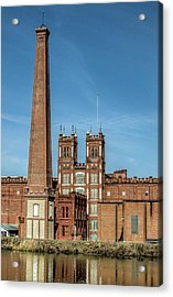 Sibley Mill II Acrylic Print by Ed Waldrop