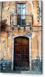 Sicilian Facade Acrylic Print