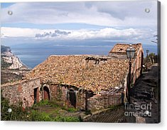Acrylic Print featuring the photograph Sicilian Forgotten Sound by Silva Wischeropp