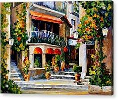 Sicily - Spring Morning Acrylic Print by Leonid Afremov