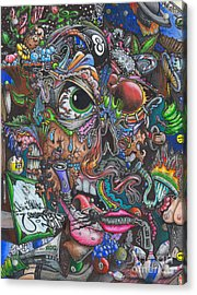 Sick Reality Acrylic Print by Brian Schuster