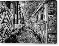 Side By Side Acrylic Print