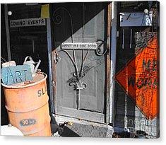 Side Door Hippies Acrylic Print