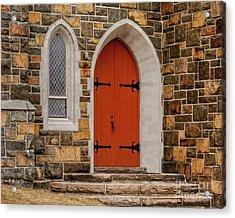 Side Door Acrylic Print