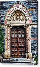 Side Entrance Acrylic Print by Christopher Holmes